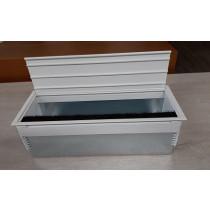 Inbouwunit - Kabeldoorvoer-Wit