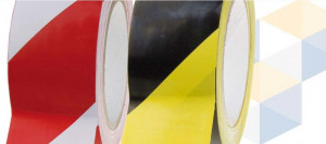 Markeringstape-Rood/Wit